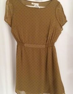 Forever 21 between Olive and fern green w dots